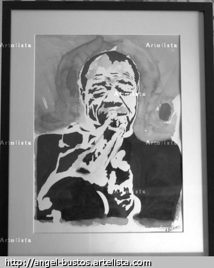 Louis Armstrong Tinta