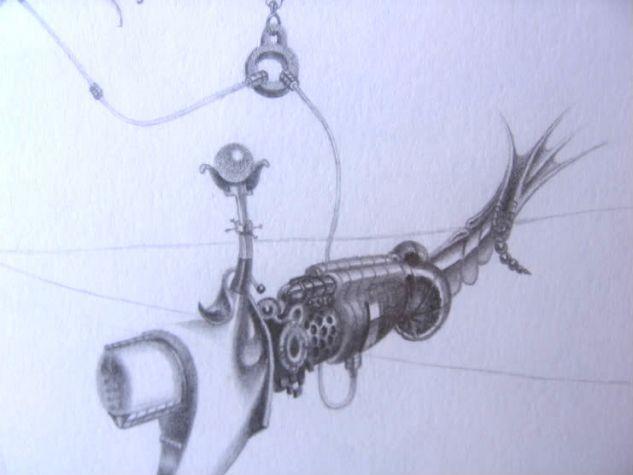 Detalle de Dia de pesca Grafito
