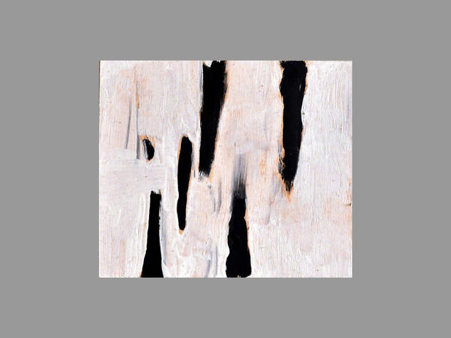 Abstracción 08 Paisaje Cera Tabla