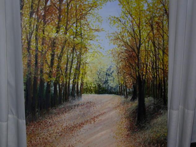 camino bonaerense en otoño