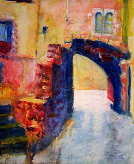 Rincones de espa a calleja en el casco antiguo de girona pacodec ceres francisco gonz lez de - Casco antiguo de girona ...