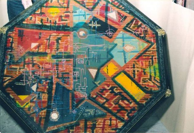 Mesa oriental mediana Ebanistería Muebles y Objetos de Madera