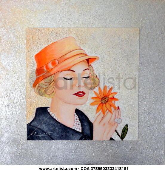 GLAMOUR Nº 10 Panel Acrylic Portrait