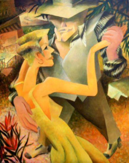 Tango Brautschau Lienzo Acrílico Otros
