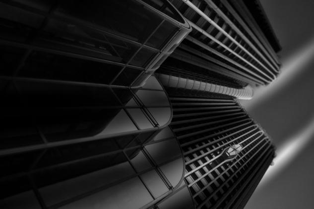 Torre Europa Blanco y Negro (Digital) Arquitectura e interiorismo