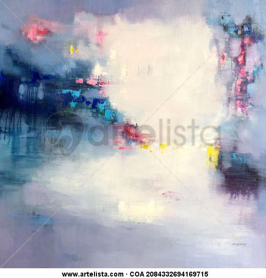 Abstract 378 Lienzo Óleo Otros
