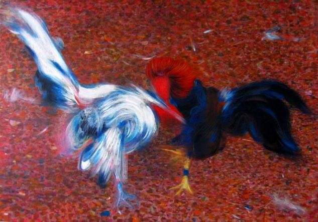 Fantasma Oil Canvas Animals