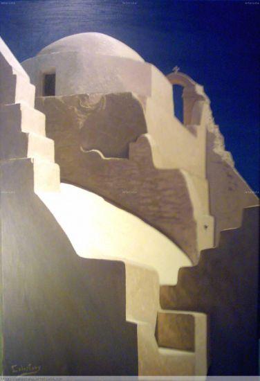 Escaleras hacia el cielo | Cuadro