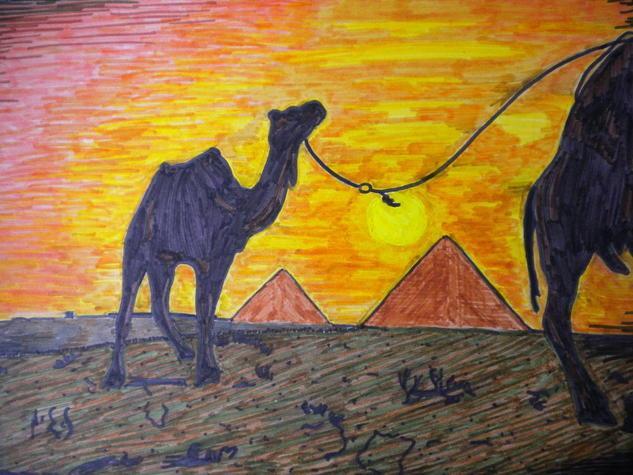 Camellos Making Pen