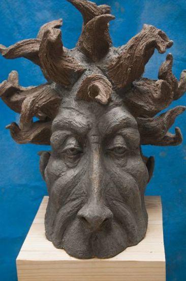 contemplaciòn Cerámica Figurativa