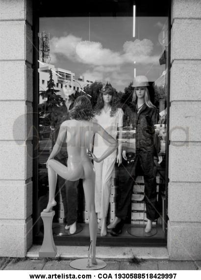 Workwomen Blanco y Negro (Digital) Publicidad y moda