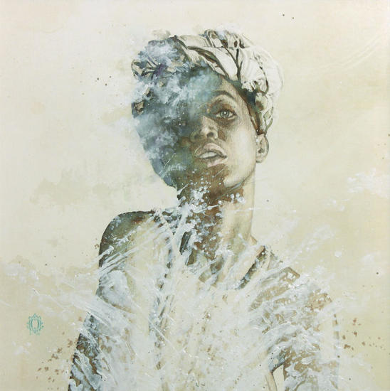 Brownie | blendscapes Papel Acuarela Retrato