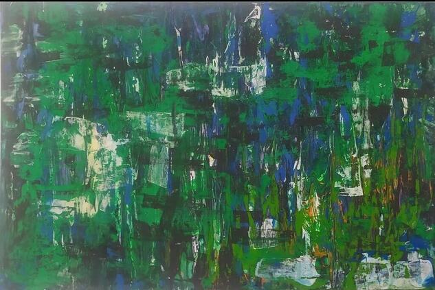 Selva negra (Black Forest) Others Gouache Canvas