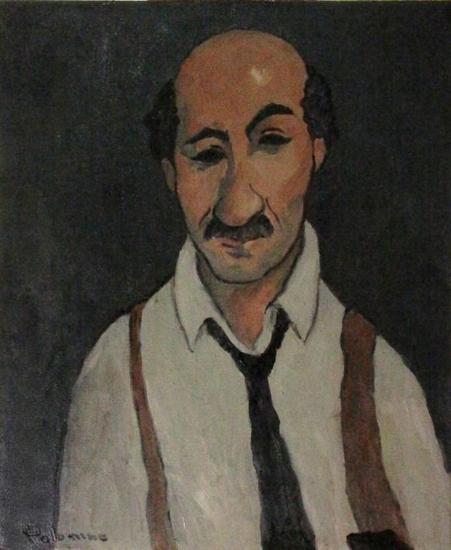 El comisario Palomino Lienzo Óleo Retrato