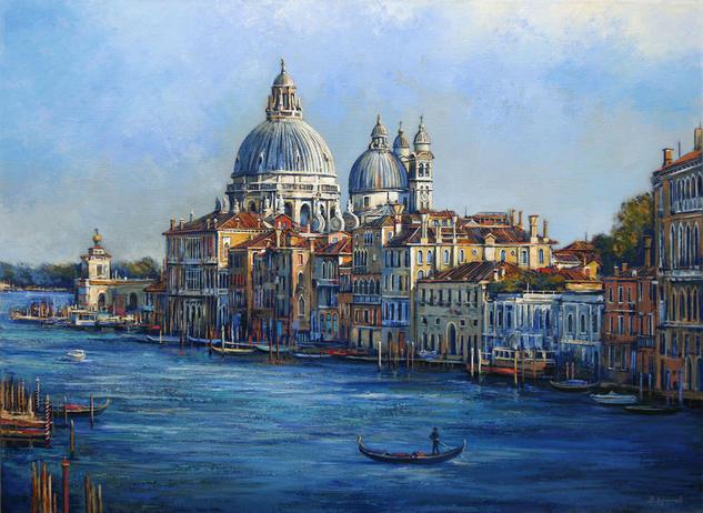 Venice Lienzo Óleo Paisaje