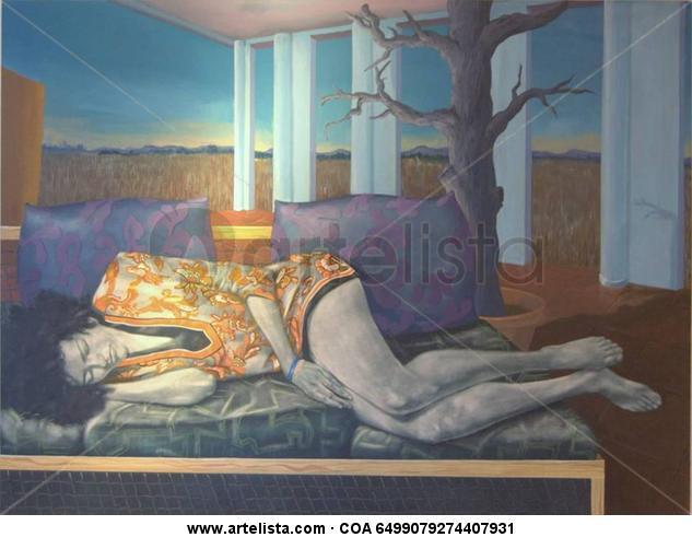 sueño de Lois  Lienzo Acrílico Figura