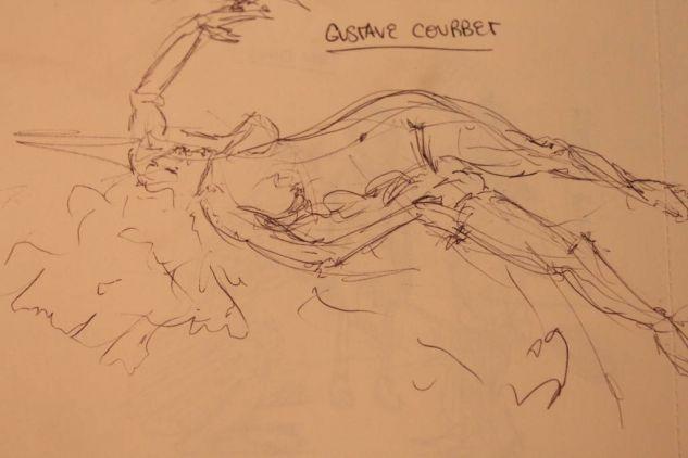 cuaderno de bocetos214 Tinta