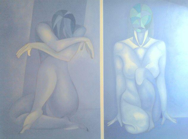 dos mujeres desnudas