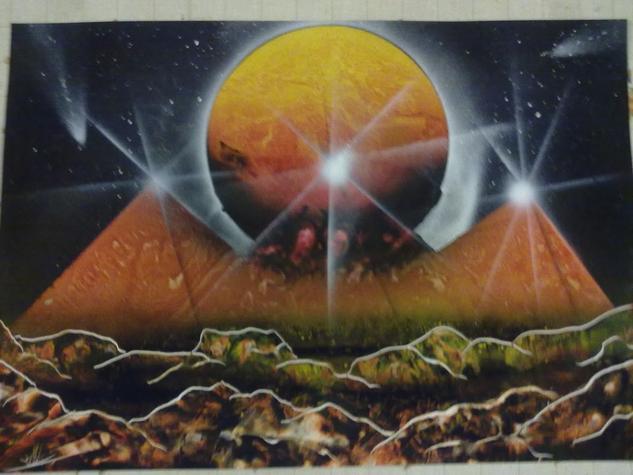 unas piramides diferentes