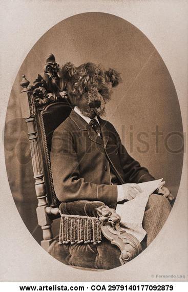 Sir Bear Papel Retrato