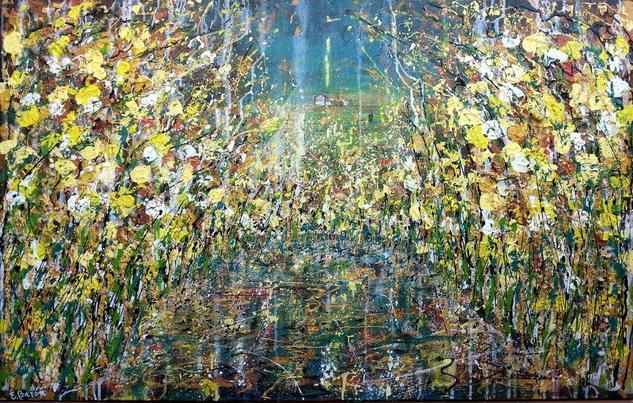 Silvestre 15 Canvas Acrylic Landscaping