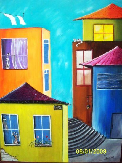 La esquina del Barrio Granada.