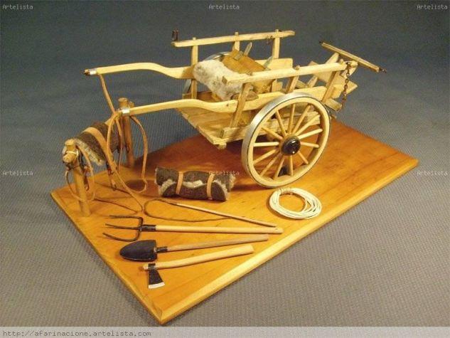 Carreta ( reproducción ) de la época colonial utilizada en América
