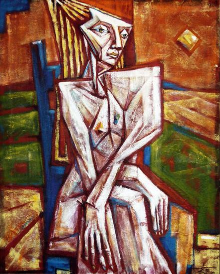 antiguos bosques que mis ojos vieron Figure Painting Oil Canvas