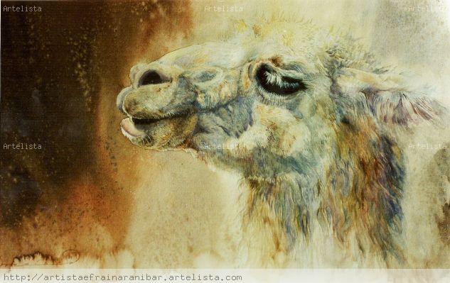 Ichiqaura Madre de las Llamas - Artista Efrain Aranibar