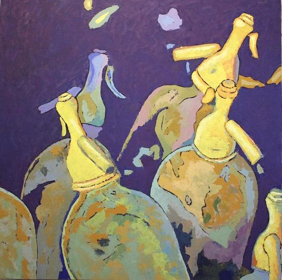 Fiesta en la taberna Panel Oil Still Life Paintings