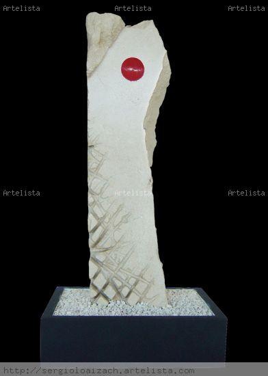 Amanecer Piedra Abstracta