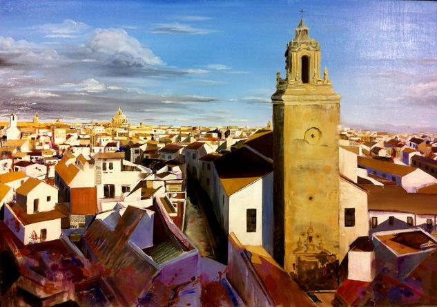 Carmona, Sevilla Panel Mixed media Landscaping