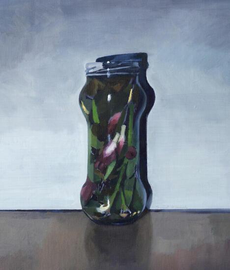 Introversión Still Life Paintings Oil Canvas
