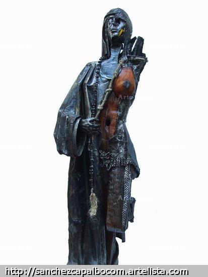 VELO DE LUJURIA Metal Figurativa