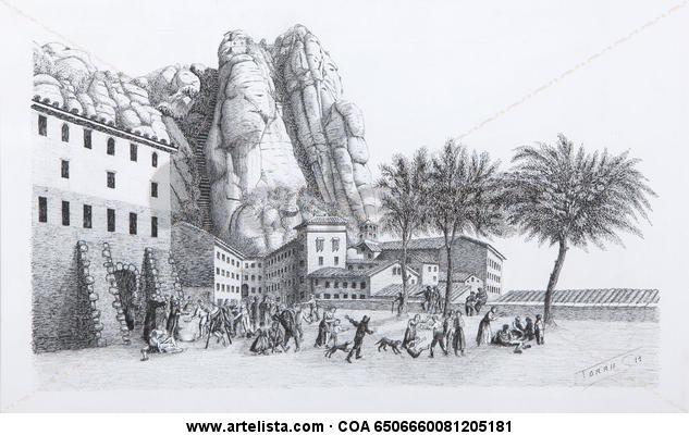 Montserrat any 1800 Tinta