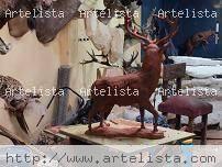 CIERVO IBÉRICO Terracota Figurativa
