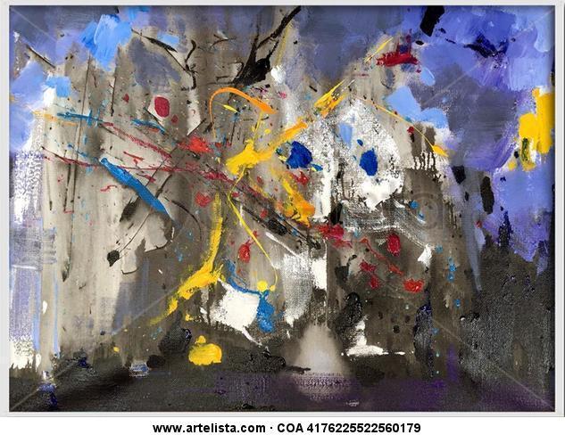 abstract 103 Otros Óleo Lienzo