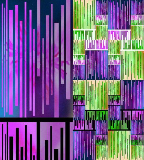 COLAGE FOTOGRÁFICO-20 Color (Química) Conceptual/Abstracto