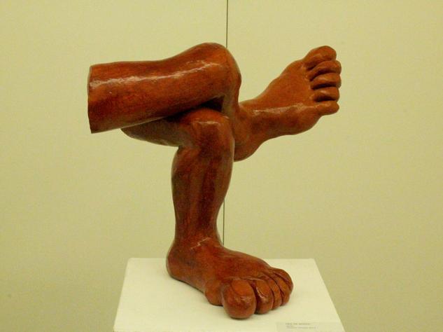 Pies de barro Mixta Figurativa