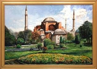Istambul Oil Canvas Landscaping