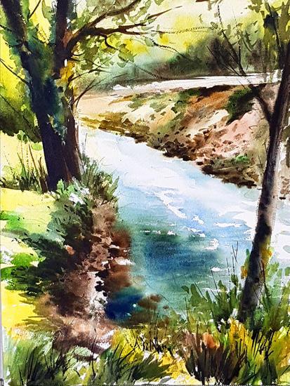 rio caldones Landscaping Watercolour Paper