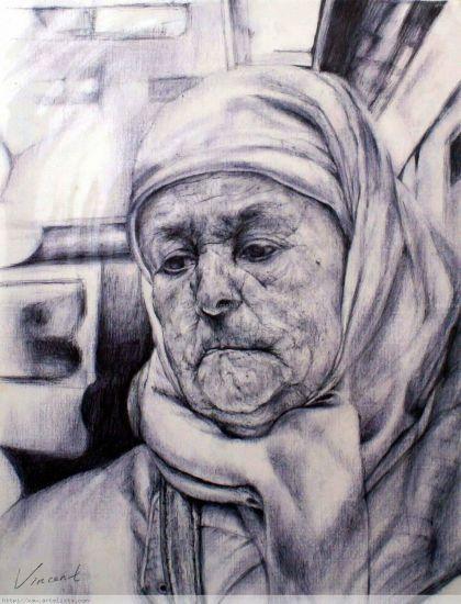 修女 Otros Papel Retrato