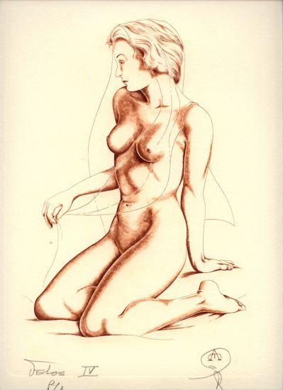 Desnudo - IV Huecograbado