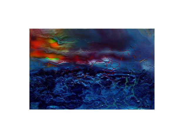 pintura-despues de la tormenta Paisaje Acrílico Lienzo