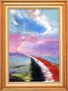 de Allí al cielo Oil Canvas Landscaping