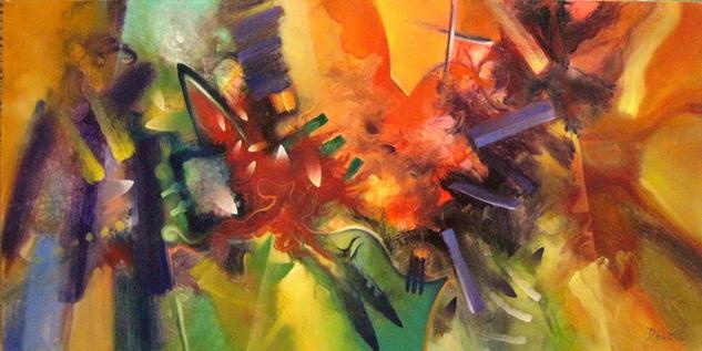 melcocha de colores Otros Óleo Lienzo