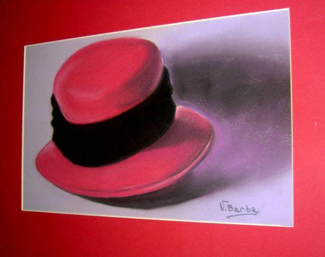 sombrero rojo Pastel Papel Otros