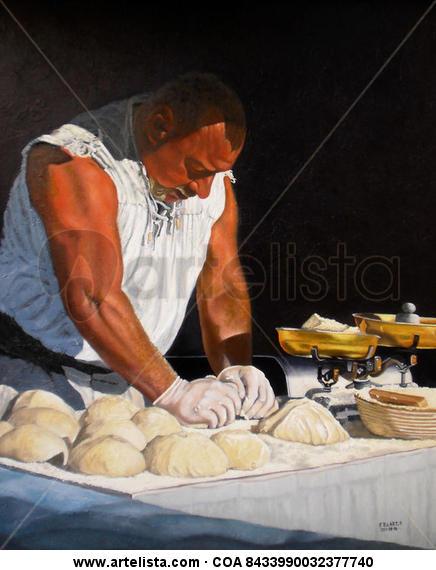 Un Forner - 2011-09-16/Oli67 Fr Canvas Oil Figure Painting