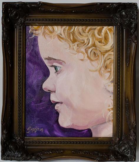 little angel Retrato Óleo Lienzo