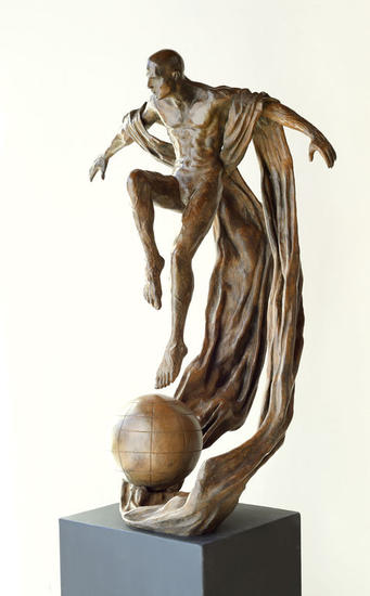 LEAP OF FAITH II Bronze Figurative